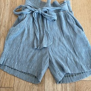 New look paper bag shorts